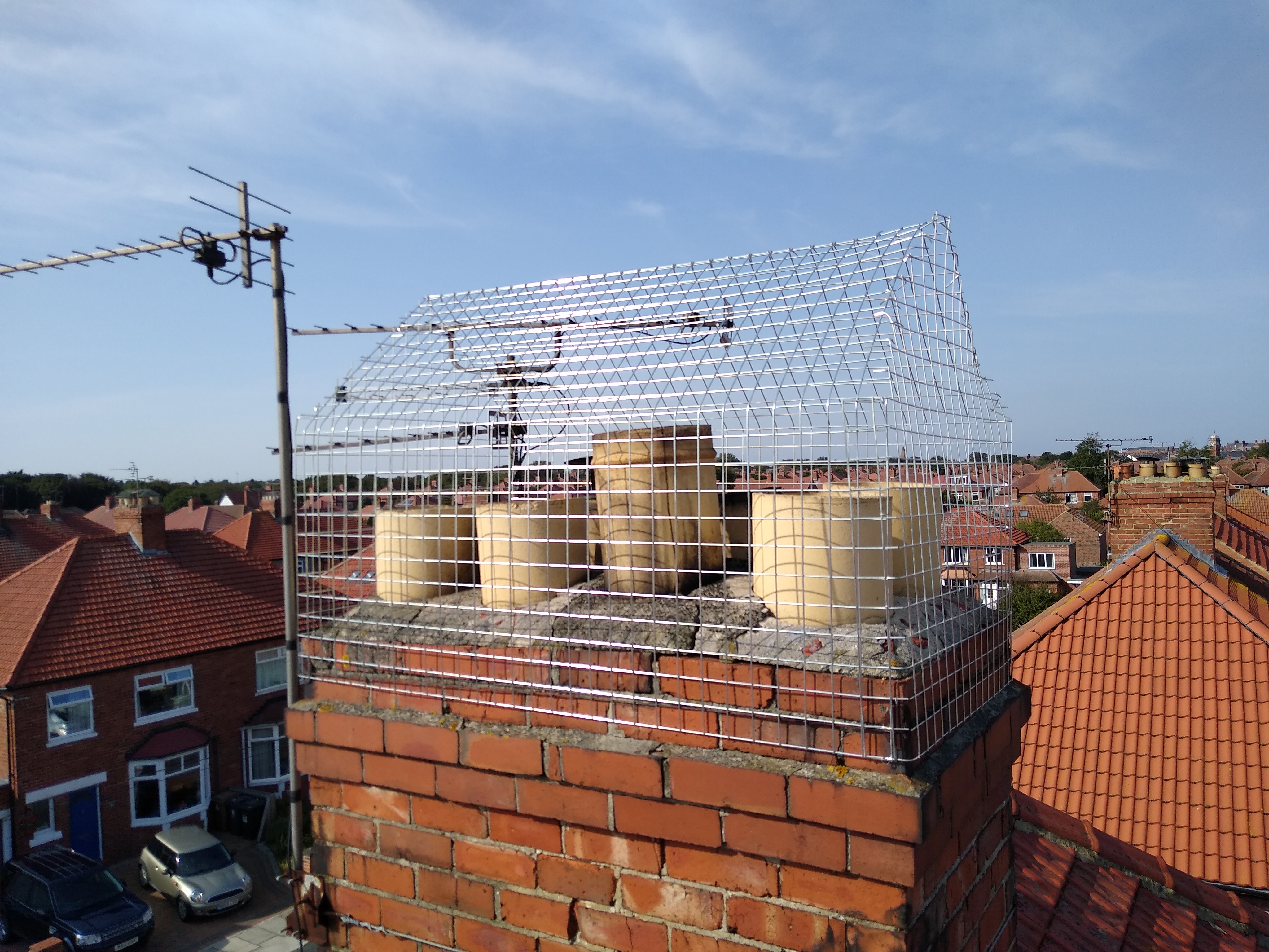 Bird netting solution